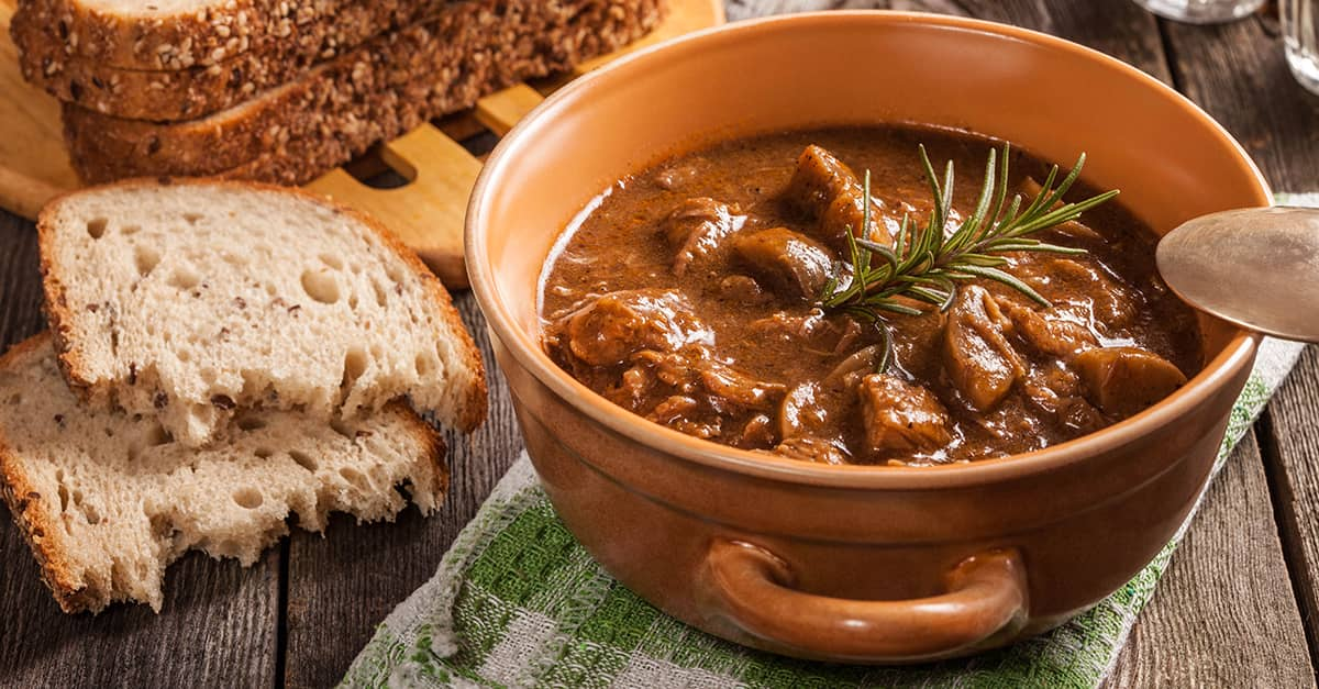 Hungarian Goulash stew