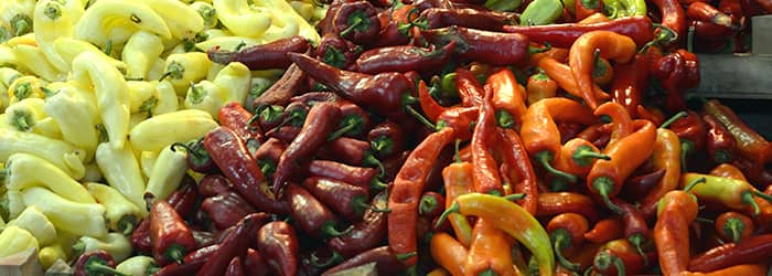 paprika variations from Hungary